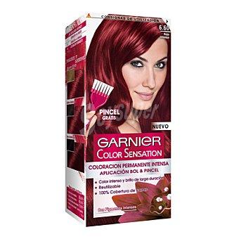 Color Sensation Garnier Coloración Permanente nº 6,6 Rojo Intenso 1 ud