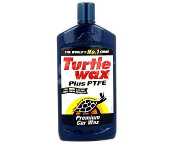 TURTLE Cera con teflón lo que confiere al coche mayor brillo y un plus de protección a la intemperie y a la contaminación 500 mililitros