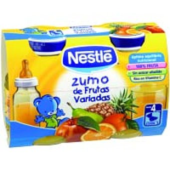 Nestlé Zumo de frutas pack 2x130 ml
