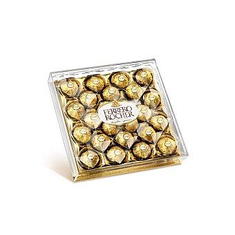 FERRERO ROCHER Bombones crujientes de chocolate y avellanas 300 gramos