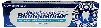Deliplus Dentifrico pasta blanqueadora + bicarbonato Tubo 100 cc