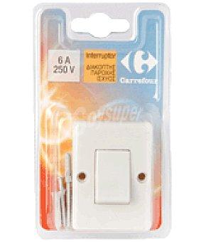 Carrefour Interruptor plano 6A 250V