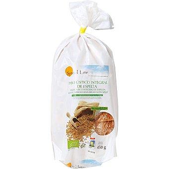 Special Line pan rústico integral de espelta ecológico rebanado  envase 450 g