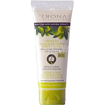 Verona crema de manos de oliva hidratante y regeneradora  tubo 75 ml