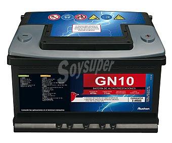GENIUM Batería de Automóvil de 12v y 71 Ah, Potencia de Arranque: 670 Amperios 1 Unidad