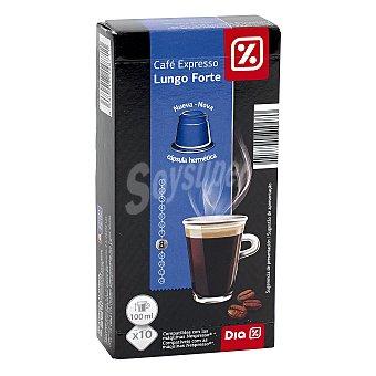 DIA Café espresso monodosis Caja 10 cápsulas