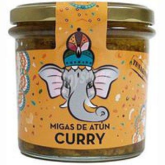 Zallo Migas de atún al curry Tunakitos Frasco 220 g