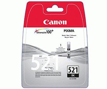 Canon Cartucho de tinta CLI-521, Negro, compatible con impresoras: iP3600 iP4600 iP4700 MP540 MP550 MP560 MP620 MP630 MP640 MP980 MP990 MX860