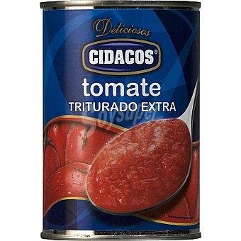 Cidacos Tomate natural triturado extra Lata 400 g