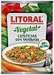 Lentejas con verduras Lata 430 g Litoral