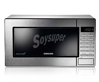 Samsung Microondas con grill, capacidad 23 litros, potencia: 800w, grill: 1100w, ancho: 48.9cm, alto: 27.5cm, 23L