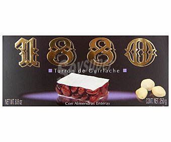 1880 Turrón de guirlache (almendra y caramelo crocanti) 250 gramos