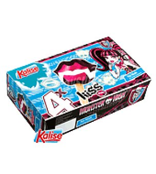 Kalise Helado Kiss Monster High Pack de 4x75 g
