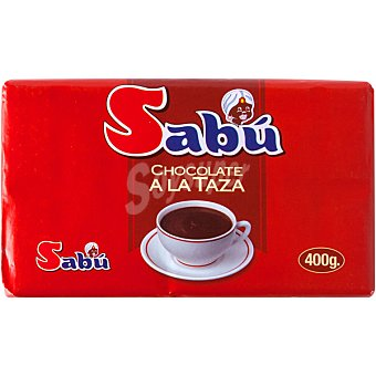 SABU Chocolate a la taza Tableta 400 g