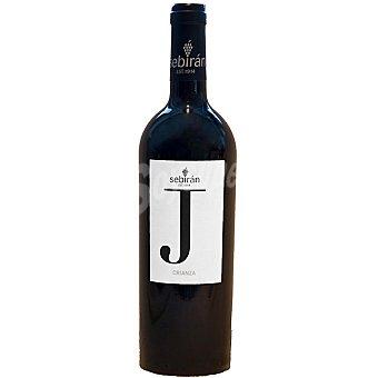 SEBIRAN J Vino tinto crianza D.O. Utiel Requena Botella 75 cl
