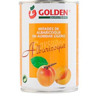 Golden Quality Foods Mitades de albaricoque en almíbar Lata 240 g