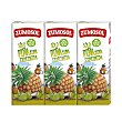 Zumo de piña y uva exprimida pack 3 unidades 200 ml Pack 3 unidades 200 ml Zumosol