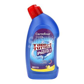 Carrefour Gel lavavajilla todo en 1 650 ml