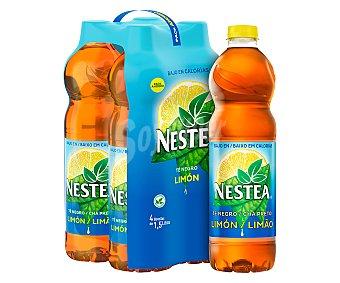 Nestea Bebida de té al limón Pack de 4 botellas de 1,5 litros