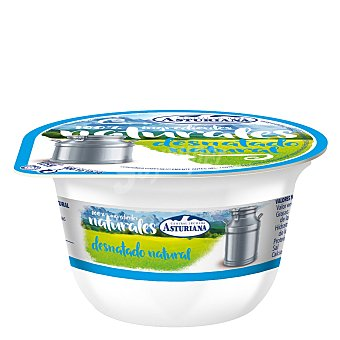 Central Lechera Asturiana Yogur desnatado natural Envase 125 g