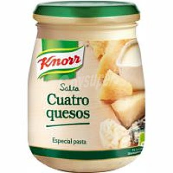 Knorr Salsa 4 quesos Tarro 260 g
