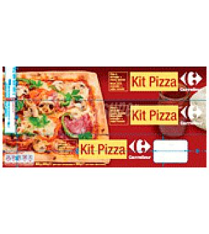 Carrefour Kit pizza 600 g
