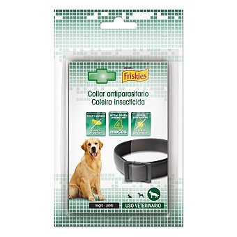 Friskies Purina Collar antiparásito negro Pack 1 unidad