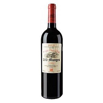 200 Monges Vino tinto reserva D.O. Rioja Botella 75 cl
