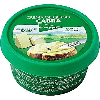 El Corte Inglés Crema de queso de cabra Tarrina 125 g