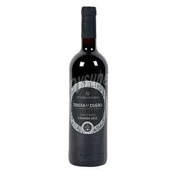 SEÑORIO DE ONDAS Vino tinto crianza DO Ribera de Duero Botella 75 cl