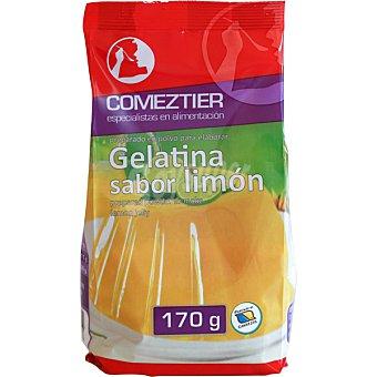 Comeztier gelatina de limón 8 raciones paquete 170 g