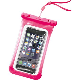 CELLULAR LINE Funda Impermeable Voyager en color rosa