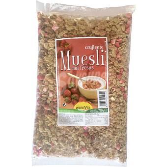 Granovita Muesli con fresas Bolsa 375 g