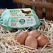 Huevos M-L 6 uds Carrefour Bio
