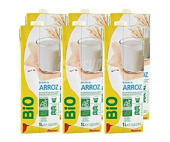 ALCAMPO ECOLÓGICO Bebida de arroz Brick de 1 litro pack de 6