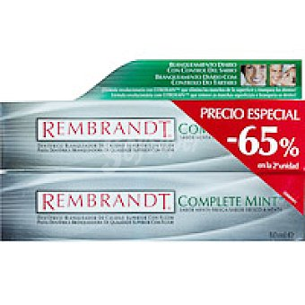 Rembrandt Dentífrico Duplo Mint Tubo 100 ml