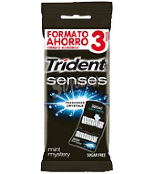 Trident Chicles blue Pack de 3