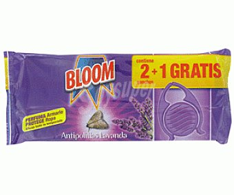 Bloom Ganchos Antipolillas 2+1u