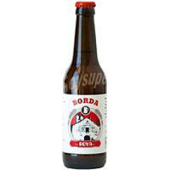 BORDA Cerveza artesana ecológica Roya Botellín 33 cl