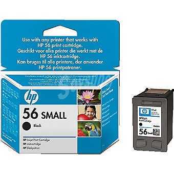 HP Nº 56 Small cartucho color negro
