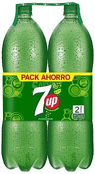 7Up Refresco de lima-limón Pack 2x2 litros
