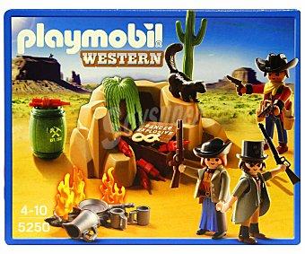 Playmobil Playset Western El Escondite de los Bandidos, Modelo 5250 1 Unidad