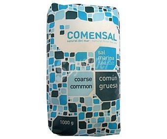 COMENSAL Sal marina común y gruesa 1 kilogramo