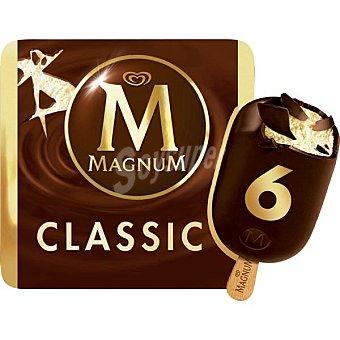 Frigo Magnum Classic helado de nata con chocolate con leche estuche 660 ml 6 unidades