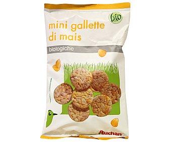 Auchan Mini tortitas de maíz ecológicas 50 Gramos