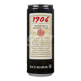 1906 Red Vintage Cerveza rubia nacional extra Lata de 33 cl