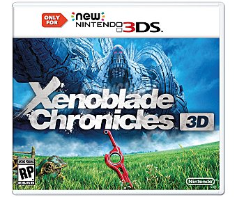 Nintendo Xenoblade Chron. New 3Ds 1 unidad