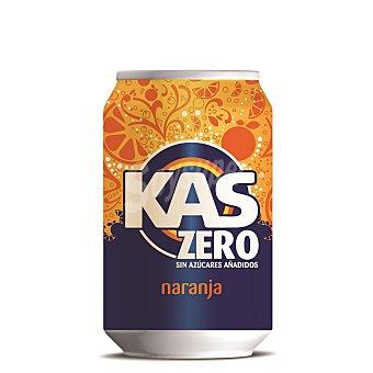 Kas Refresco de naranja zero Lata 33 cl