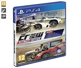 Ubisoft Videojuego The Crew Ultimate Edition para playstation 4. Género: Carreras. pegi: +12 The Crew Ultimate Edition PS4