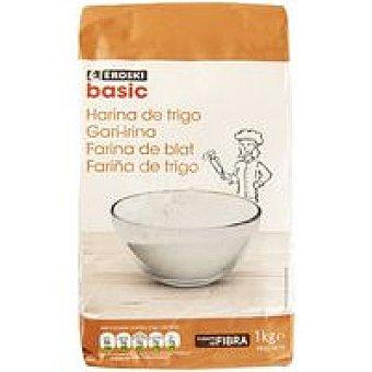 Eroski Basic Harina de trigo Paquete 1 kg